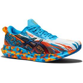asics Noosa Tri 13 Shoes Men, azul/naranja
